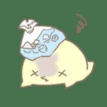 Hiroshi is a chick. sticker #160478