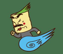 Japanese KWAII Teaman sticker #160547