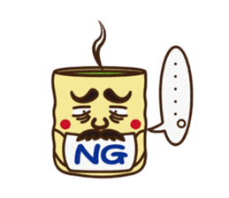 Japanese KWAII Teaman sticker #160548