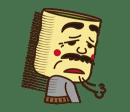 Japanese KWAII Teaman sticker #160550
