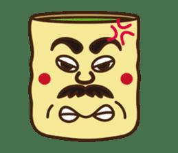 Japanese KWAII Teaman sticker #160552
