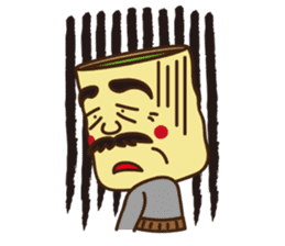 Japanese KWAII Teaman sticker #160564