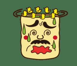 Japanese KWAII Teaman sticker #160569
