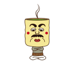 Japanese KWAII Teaman sticker #160570