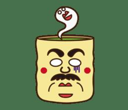 Japanese KWAII Teaman sticker #160572