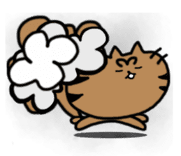cat + cat sticker #161264