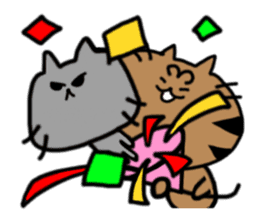 cat + cat sticker #161266