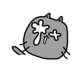cat + cat sticker #161273