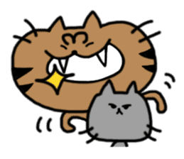 cat + cat sticker #161287