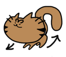 cat + cat sticker #161289