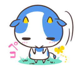 MILK The Blue Cow sticker #161378