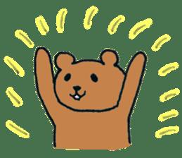 Grizzly-kun sticker #162099