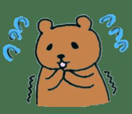 Grizzly-kun sticker #162100