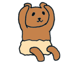 Grizzly-kun sticker #162101