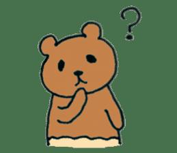 Grizzly-kun sticker #162104