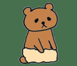 Grizzly-kun sticker #162105
