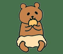 Grizzly-kun sticker #162108