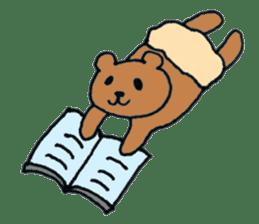 Grizzly-kun sticker #162109