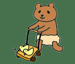 Grizzly-kun sticker #162111