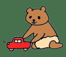 Grizzly-kun sticker #162112