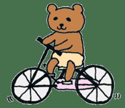 Grizzly-kun sticker #162113