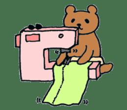 Grizzly-kun sticker #162114