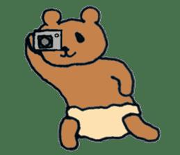 Grizzly-kun sticker #162115
