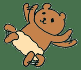 Grizzly-kun sticker #162119