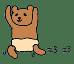 Grizzly-kun sticker #162122