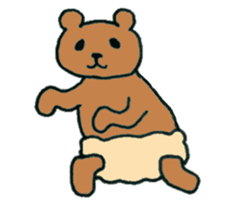 Grizzly-kun sticker #162124