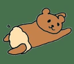 Grizzly-kun sticker #162125