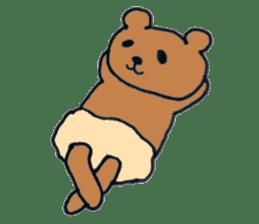 Grizzly-kun sticker #162126