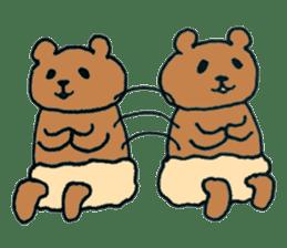Grizzly-kun sticker #162127