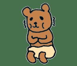 Grizzly-kun sticker #162130