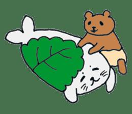 Grizzly-kun sticker #162135
