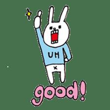 UH (English version) sticker #162941