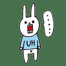 UH (English version) sticker #162946