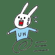 UH (English version) sticker #162962