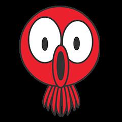 Okto-kun - The Shy Octopus Boy