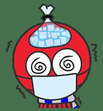 Okto-kun - The Shy Octopus Boy sticker #163070