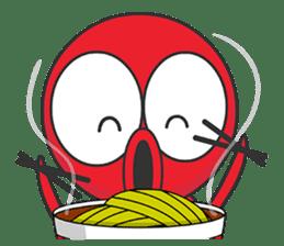Okto-kun - The Shy Octopus Boy sticker #163076