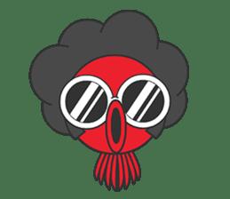 Okto-kun - The Shy Octopus Boy sticker #163079