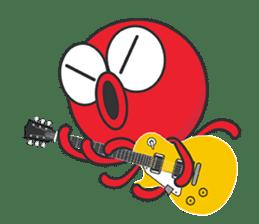 Okto-kun - The Shy Octopus Boy sticker #163081