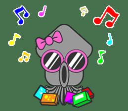 Okto-kun - The Shy Octopus Boy sticker #163086