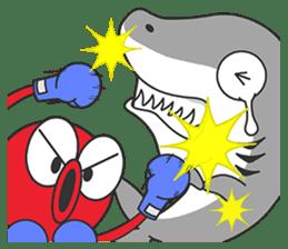 Okto-kun - The Shy Octopus Boy sticker #163095