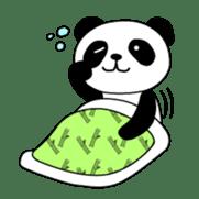 Wake-up Panda sticker #163780