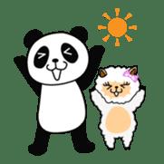 Wake-up Panda sticker #163781