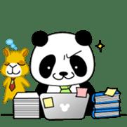Wake-up Panda sticker #163787