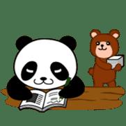 Wake-up Panda sticker #163788