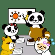Wake-up Panda sticker #163789